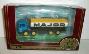 EFE 1/76 Scale 22301 Leyland 4 axle tanker Major