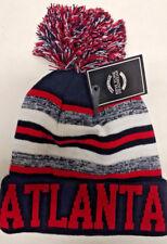 Atlanta Falcons Team Color Sideline Replica Pom Pom Knit Beanie Hat