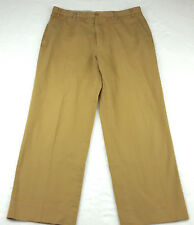"""Zanella Mens 33 x 27 """"Benny"""" Casual Khaki Pants Chino Trousers, Made In Italy"""