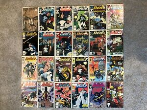 🌟 (24) Marvel Comics The Punisher Lot