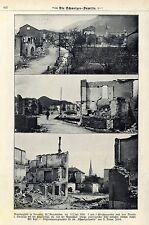 Brand disgrazia in Bonaduz KT. grigio tasselli il 11.7.1908 riprese storica 1908
