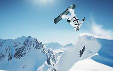 "Snowboard poster 40"" x 24"" Decor 01"
