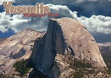 Half Dome Yosemite National Park California, CA Rock Formation Valley - Postcard