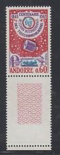 ANDORRA 1965  Centenary of ITU.   MNH
