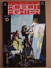 1991 VALIANT COMICS MAGNUS ROBOT FIGHTER #3 WITH COUPON