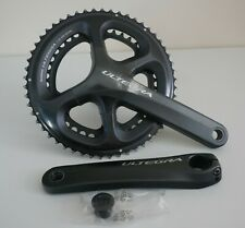 SHIMANO ULTEGRA 6800 11 SPEED CHAINSET 53/39 172.5mm BLACK