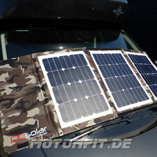 Faltbares Solarpanel SONDEREDITION Camouflage Army-Look DCsolar Power Move 110Wp