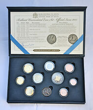 Malta Euro Coins Set 2015 - Official Issue of 10 Coins - BU in Case