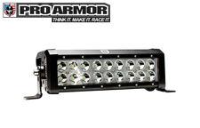 """Pro Armor 10"""" Dual Row CREE LED Off-Road Spot Bumper Light Bar A16UL168"""