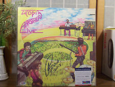 """TODD RUNDGREN LP """"Another Live Utopia"""" CBS RECORDS """"AUTOGRAPHED (Signed) by Todd"""