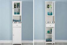 Bathroom Cupboard Storage Unit   Modern, Minimalist Scandinavian TallboyCabinet