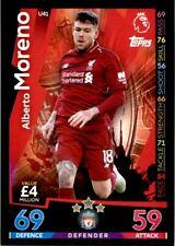 Match Attax 2018/19 EXTRA - Liverpool Alberto Moreno (Update Card) No. U41