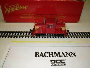 C-8 HO DCC Bachmann Spectrum 85203 GE 45 ton diesel switcher tested runs good 02