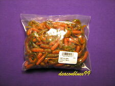 "Mister Twister 3""Meeny Tail Grubs -  100 pack - Perch"