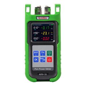 Komshine Optical Fiber PON Power Meter 1310/1490/1550nm PON Network Tester SC/PC