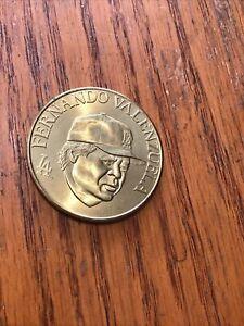 Fernando Valenzuela 1990 Bandai Coin Dodgers