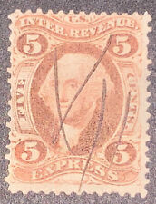 Travelstamps: 1862-1871 Us Stamps Scott # R25c, Express Used, Ng, Pen Cancel