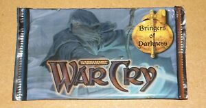 Warhammer WarCry CCG Bringers of Darkness Booster Pack New & Sealed