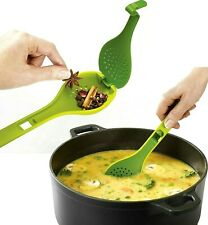Herb Flavour Infusing Spoon Green New Home Kitchen Cooking Stirrer Chef Baking