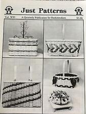 5 Basket Weaving Patterns Just Patterns Publication Winter 95