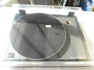 Linn Axis (not working), Linn lid, hinges, belt & mat.  9/10 cosmetically.