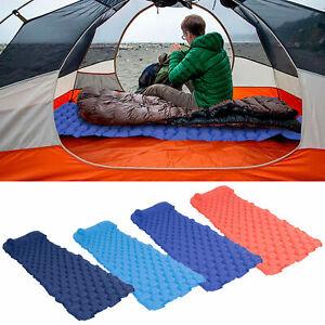 Portable Inflatable Beach Air Bed Sofa Lounger Beach Sleeping Bag Camping Travel