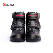 Motorcycle Men Women Ankle Boot Riding Protective Street Racing Breathable Shoes