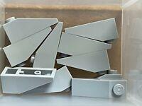 LEGO Parts - Light Bluish Gray Slope 33 3 x 1 - No 4286 - QTY 10