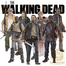 McFarlane The Walking Dead TV Series 8 COMPLETE SET OF 7 Action Figures IN STOCK