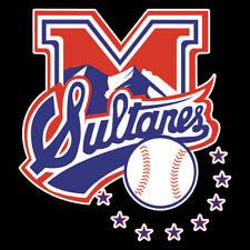 Sultanes de Monterrey Baseball Team Car Decal/Sticker Multiple Sizes