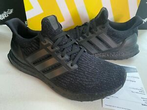 Adidas Ultra Boost 3.0 Triple Black Shoes Mens 11.5 - EXCELLENT CONDITION OG ALL