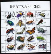 USA Scott# 3351 INSECTS AND SPIDERS Pane of 20 Stamps - MNH