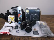 Nikon Coolpix P610 Digital Camera 26488 16.0 MP 60x Zoom + **ULTIMATE BUNDLE!!**