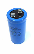SPRAGUE POWERLYTIC ALUMINUM CAPACITOR, 36D 1400-200DC LARGE CAN SCREW, AS IS!