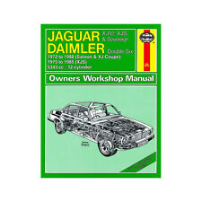 Jaguar XJ12 XJS Sovereign Double Six Haynes Manual 1972-88 5.3 Petrol Workshop