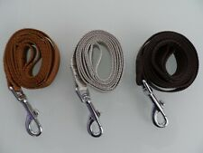 STRONG DURABLE DOG LEADS ASST: COLOURS.