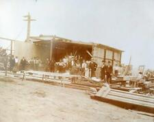 Antique Albumen  Photo St. Louis,Missouri 1896 Tornado Cyclone Destruction