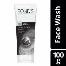 Pure White Anti-Pollution Face wash With Activated Charcoal By Pond's,100 gm GJ
