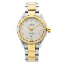 Omega Seamaster сталь 18K золотые автоматические бриллиант швабра часы 231.25.34.20.55.006