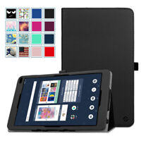 """For Barnes & Noble Nook 10.1"""" BNTV650 Tablet Folio Leather Case Cover Stand"""