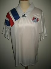 United States of America USA football shirt soccer jersey vintage Adidas size XL