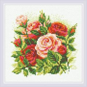 Diamond Mosaic Kit RIOLIS AM0061 - Roses