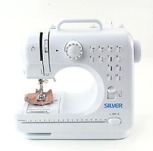 Silver 12 Stitch mini Sewing Machine