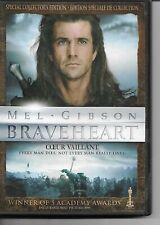 Braveheart DVD! Mel Gibson! 2 Disc Special Collector's Edition! Historical Epic!