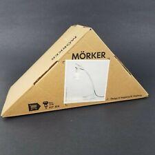 IKEA MORKER LAMP TABLE DESK STUDY Silver BRAND NEW NIB Discontinued Lamp