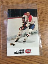 1988 ESSO NHL ALL-STAR COLLECTION JEAN BELIVEAU STAMP STICKER FRENCH ENGLISH