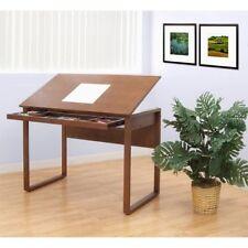 Art Drawing Drafting Table Desk Wood Adjustable Studio Designs Drawer New