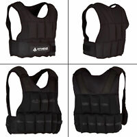 Adjustable Weighted Vest Jacket Weight Loss Gym Training Fitness Exercise