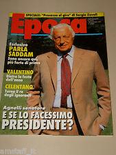 EPOCA=1991/2123=GIANNI ANGELLI=ADRIANO CELENTANO=CUTOLO=IGOR MITORAJ=MATARRESE=