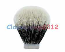 MS - Two Band 100% Finest Badger Hair Knot Shaving Brush Tool - 24/63 MM